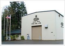 アメリカ ワシントン州 ポートエンジェルスに 100%子会社 FKC Co., Ltd.を設立。